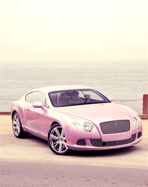 bentley car pink pink bentley вєαυтifυℓ яidєѕ pinterest