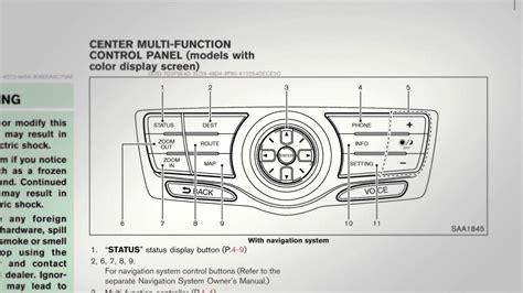 car service manuals pdf 2004 nissan murano navigation system 2012 nissan murano navigation system owners manual youtube