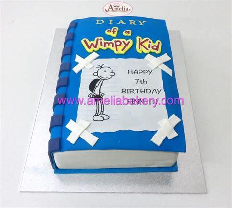 libro diary of a wimpy tarta libro diary of a wimpy kid amelia bakery