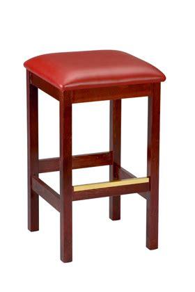 commercial backless bar stools regal seating model 1110u commercial wooden backless bar