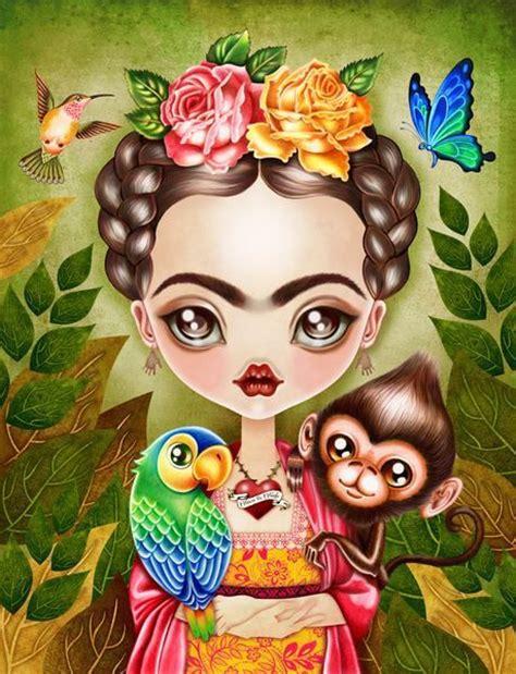 imagenes figurativas de frida kahlo las 25 mejores ideas sobre frida kahlo caricatura en