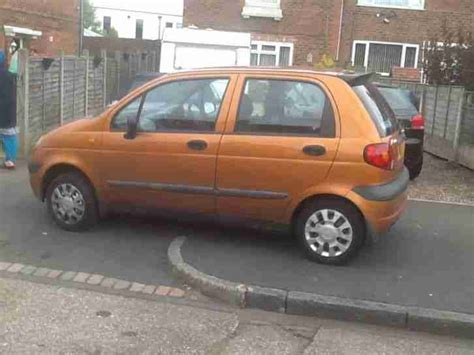 Orange Daewoo Matiz Daewoo 2001 Matiz Se Orange Car For Sale