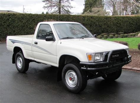 1990 Toyota 4x4 1990 Toyota 4x4 Up One Owner Stock And Beautiful
