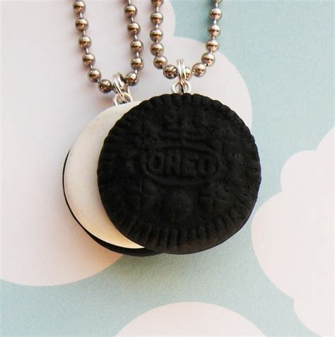 oreo best friends necklace set of 2 r2f3