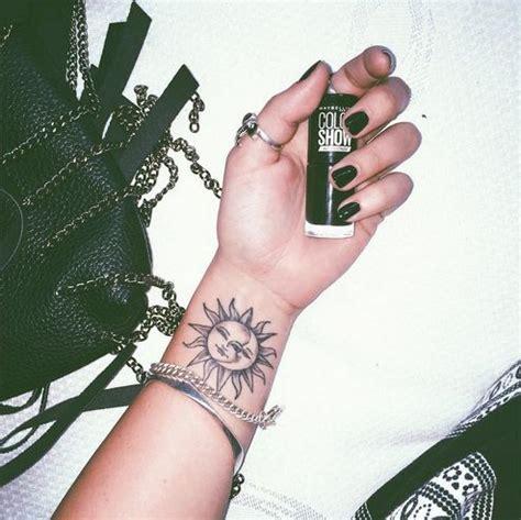 small sun and moon tattoo 52 small sun tattoos designs and ideas