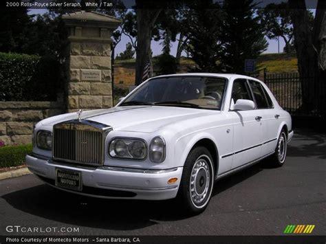 2000 rolls royce silver seraph in white photo no 12429224