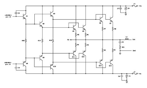 Power Lifier Nad dc servo audio lifier schematic get free image about