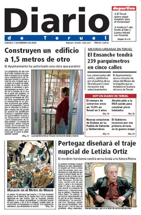 los diarios de emilio infoam 233 rica los diarios de espa 241 a diario de teruel