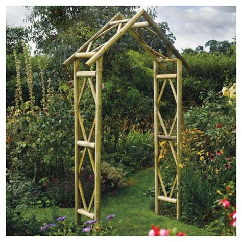 Garden Arches Direct Buy Rowlinson Rustic Garden Arch From Our Arches Arbours