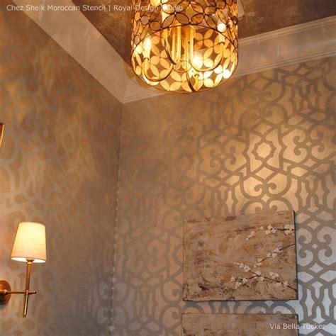 Martin Lawrence Bullard Interior Designer Wall Stencils For Painting Designer Moroccan Stencils