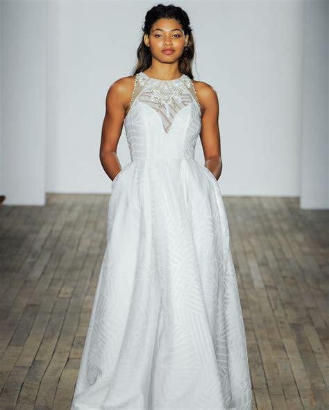boat neck fall dress 74 pretty wedding dresses with pockets martha stewart