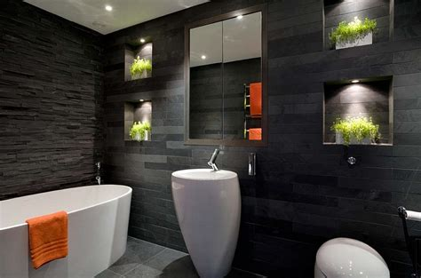 black bathrooms 20 exquisite bathrooms that unleash the beauty of black