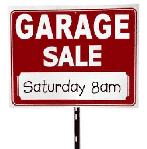 Garage Sales Garage Sale Tomorrow 171 Sunset Civic Association