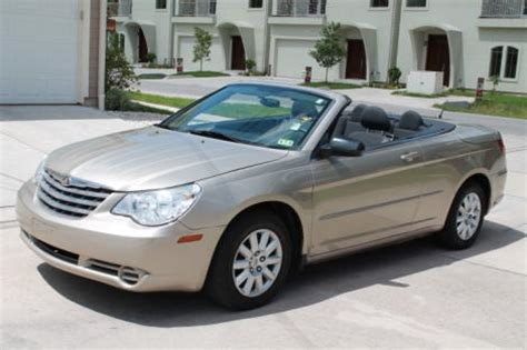 2009 chrysler sebring convertible for sale in houston tx