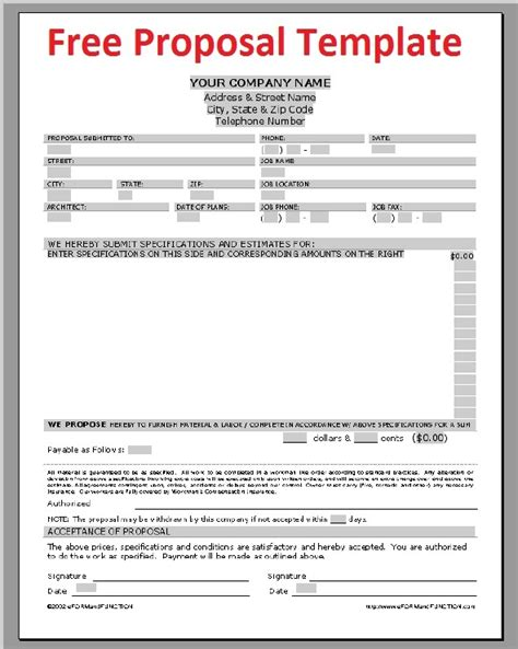 Construction Job Proposal Exle Templates Resume Exles V5gjb1kgvd Construction Rfp Template