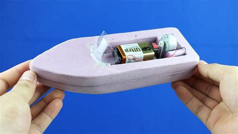 how to make a mini wooden boat how to make a boat simple 9v battery foam boat mini gear