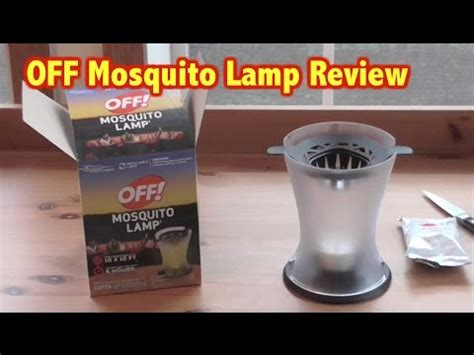 Off Mosquito L Review Unboxing Mosquito Protection