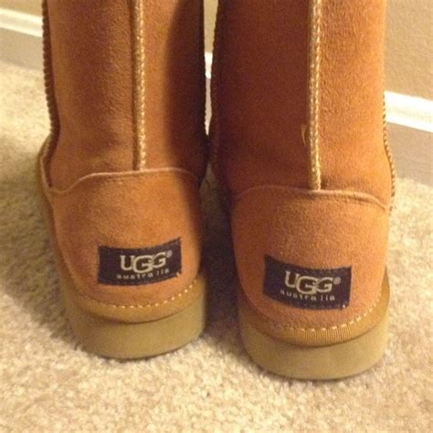 chestnut colored boots 40 ugg shoes ugg classic chestnut colored