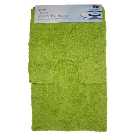 Bath Mats B M B M Gt Bath Mat Set 2pc 263937