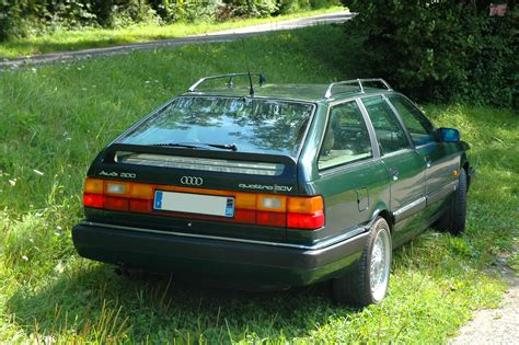 Audi 200 Quattro 20v by 1991 Audi 200 Quattro Turbo 20v Avant