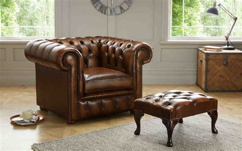 chesterfield sofa and chair for sale small house