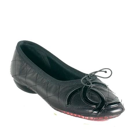 Chanel Quilted Ballet Flats by Chanel Quilted Leather Ligne Cambon Ballet Flats Size 7 5 37 5