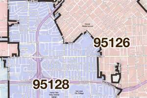 San Jose Zip Code Map by 301 Moved Permanently