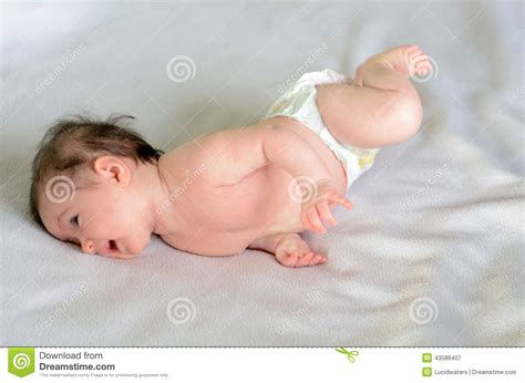 Baby Rolled by Infant Baby Roll Stock Photo Image 43586407
