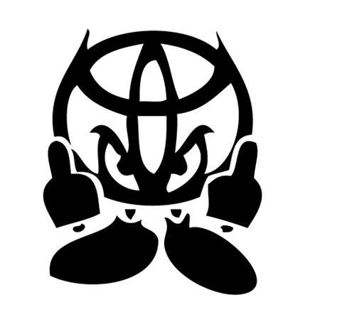 cool toyota logos gps vinyl graphics toyota
