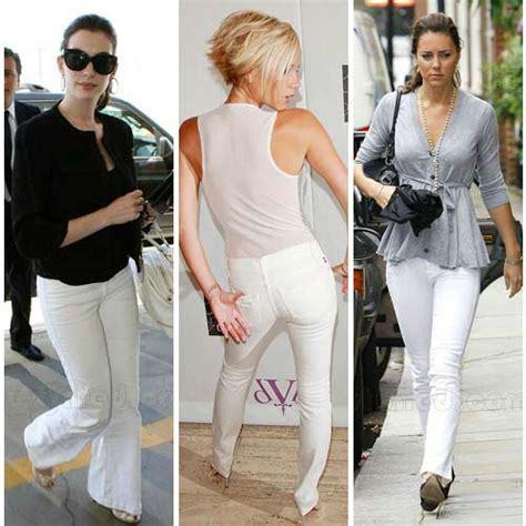 26731 White Oversize Dress Dress Putih носите белые джинсы как знаменитости и лучше их блогер