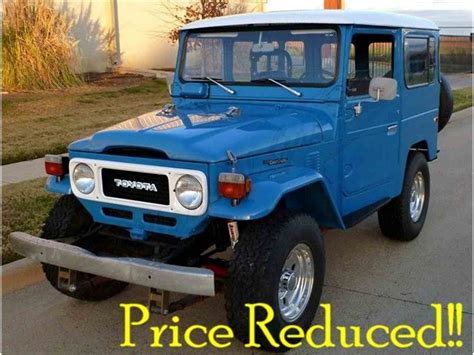 1980 Toyota Land Cruiser For Sale 1980 Toyota Land Cruiser Fj For Sale Classiccars