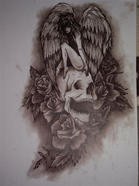 death angel tattoo designs tattoos and designs page 36