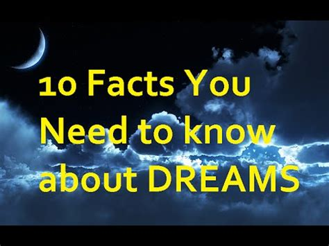 10 Interesting Facts About Dreams by 10 Facts You Need To About Dreams