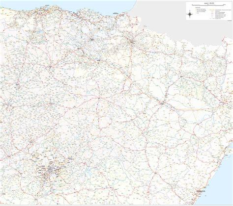 mapa de carreteras de asturias tama 241 o provincias de espa a mapa de carreteras callejeros mapa carreteras espa 241 a oferta mapa