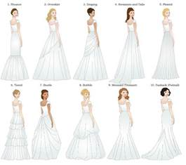 wedding dresses different styles deciding the dress for the of honor