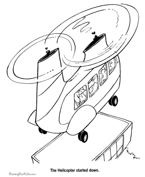coloring pages airplanes and helicopters helicopter coloring page 023