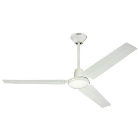 White Industrial Ceiling Fan by Westinghouse Industrial 56 In Indoor White Ceiling Fan