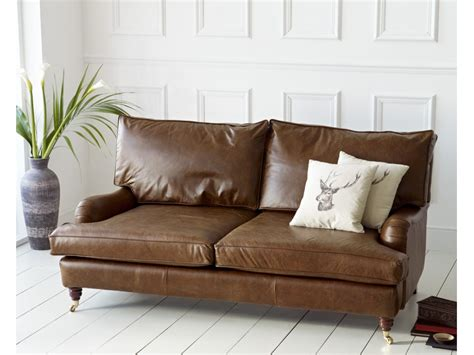 Vintage Leather Sofa Uk by The Holbeck Vintage Leather Sofa