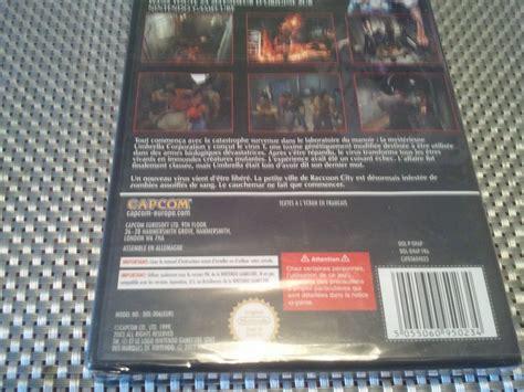 Blister S By Mere Et Moi ach resident evil 2 fr gamecube neuf sous blister