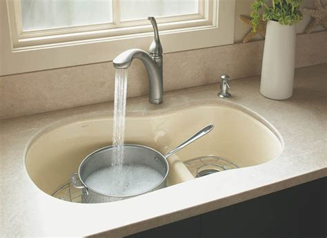 Cast Iron Kitchen Sinks Double Bowl The Homy Design Cast Iron Kitchen Sinks For Sale
