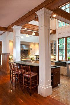 kitchen island columns 2018 kitchen islands with pillars kitchens with columns design ideas pictures remodel and decor