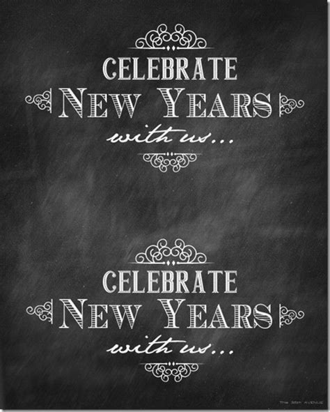 free printable new year posters 35 beautiful free new years printables