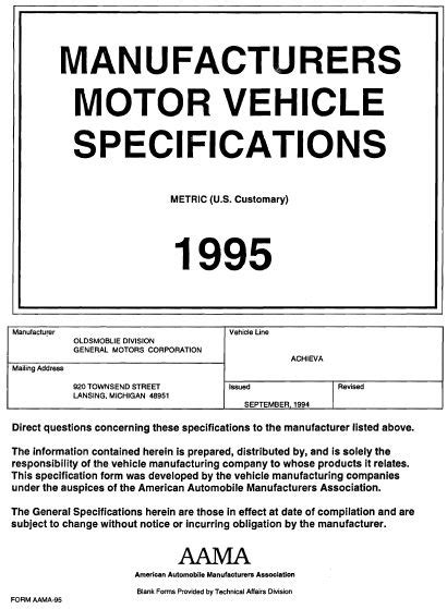 vehicle repair manual 1996 oldsmobile achieva free book repair manuals service manual automobile fuse manual for a 1995 oldsmobile achieva 1996 oldsmobile achieva