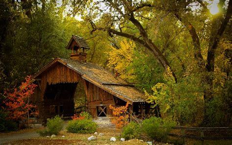 Little Cabin Plans Fond D 233 Cran Cabane En Ruine