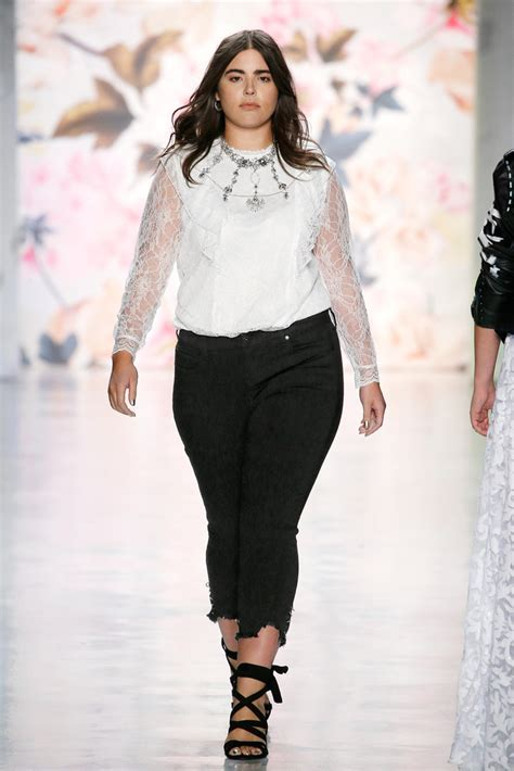 plus size runway show fashion week spring summer 2014 ivillage torrid debuts it s spring 2018 plus size collection at