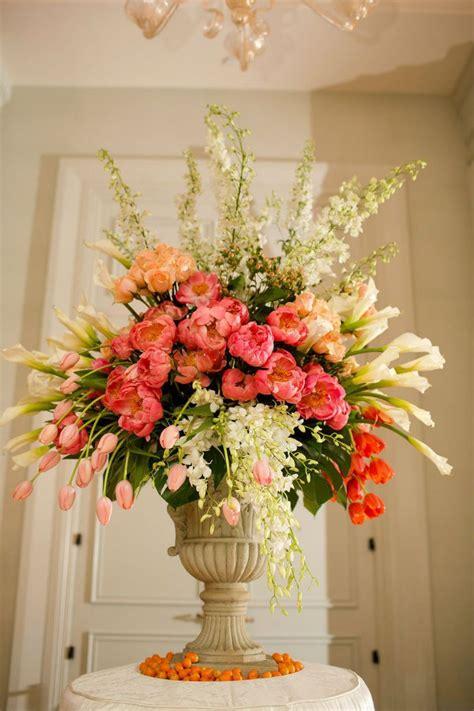 flower arrangement techniques 7 tips to diy wedding floral arrangements tulip wedding