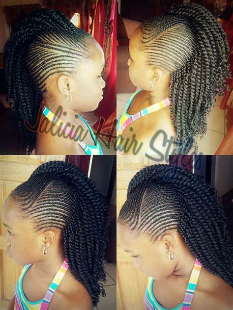 images of kids hair braiding in a mohalk gorgeous cornrows created by jalicia hair styles black