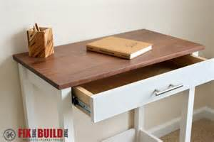 Diy Writing Desk White Writing Desk Diy Projects