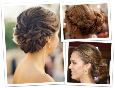 Wedding Hairstyles Updos Braided by Wedding Hairstyles With Braids For And Childish Look