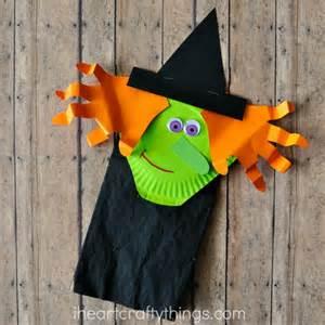 Paper Sack Crafts - paper bag witch craft for i crafty